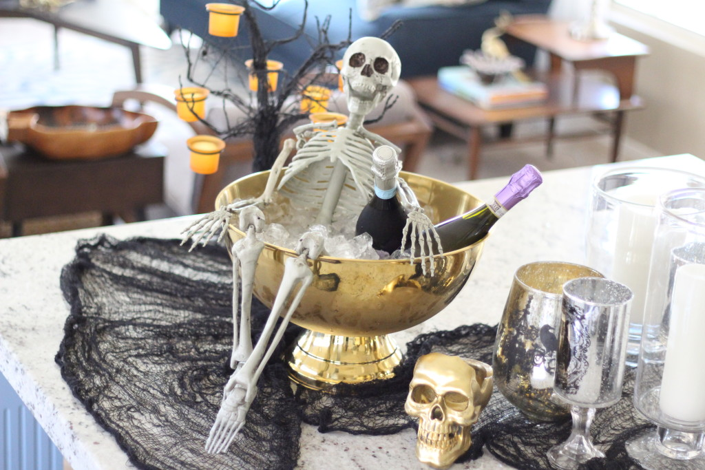 Skeleton Styling Fun for Halloween